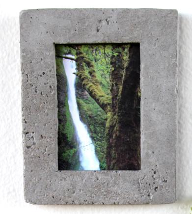 Lav din egen fotoramme af beton!   blog om bolig