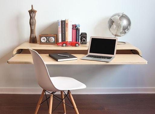 Hjemmekontor / unikt skrivebord   blog om bolig