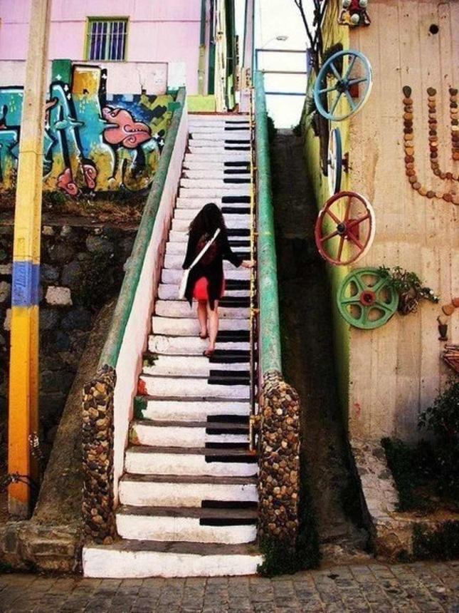 Klaver-trappen.