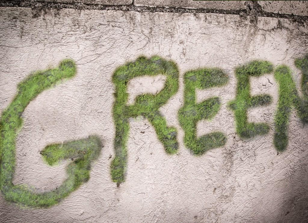 Graffiti af mos