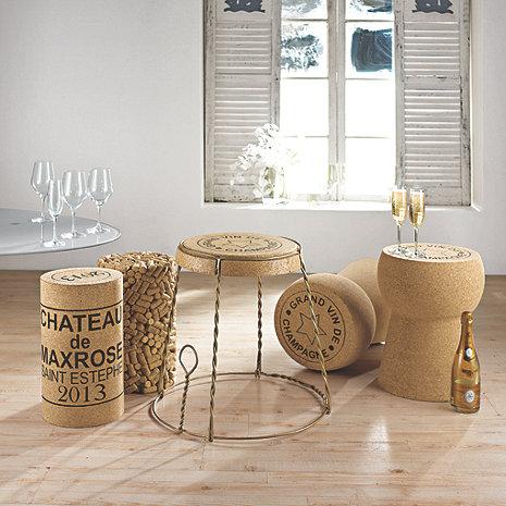 Vin og møbler
