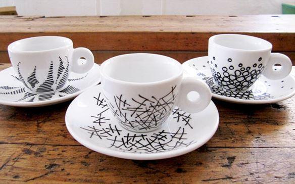 Tekopper og kaffekopper