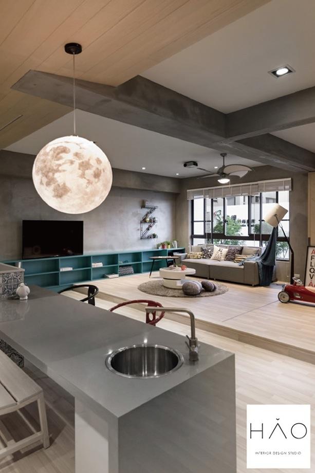 Månen som lampe