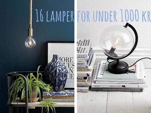 16 UNIKKE LAMPER - Blog Om Bolig