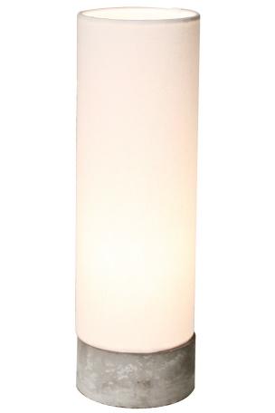 Belysning beton bordlampe