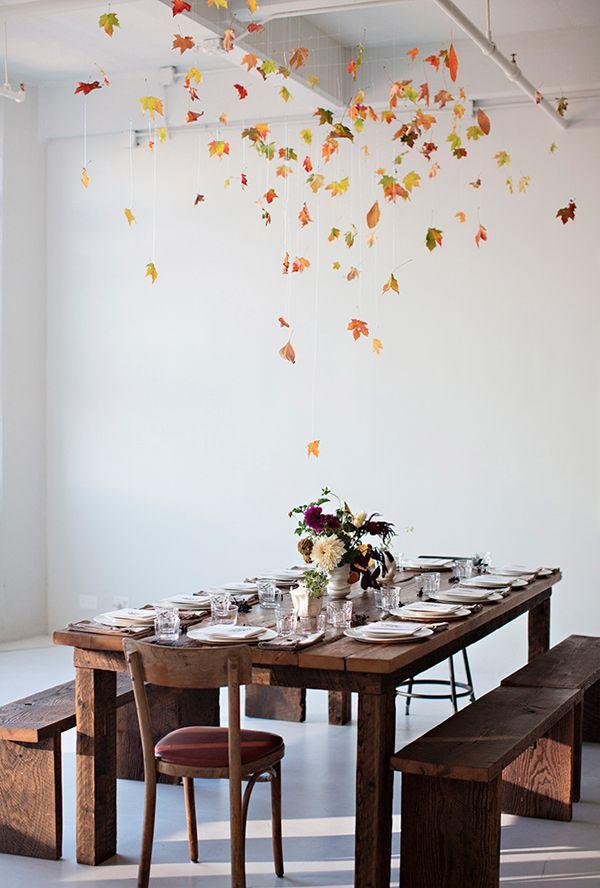 Efterår - blade - DIY