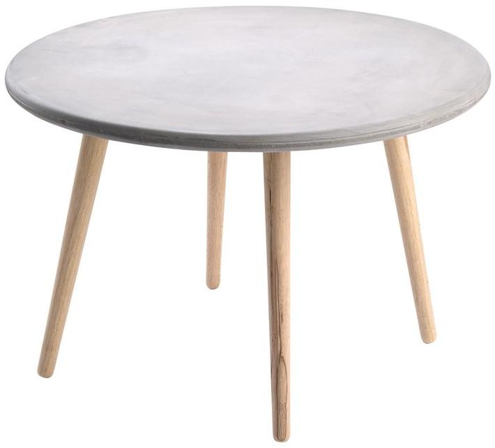 rund betonbord