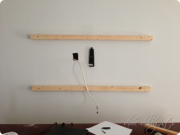 diy tv-møbel