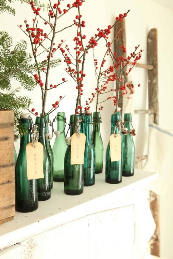 grønne flasker