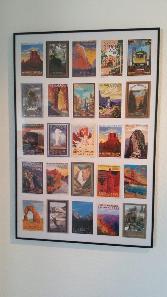 Postkort i vintagestil
